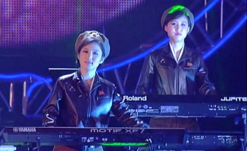 Kim Yong-mi & Ri Hui-kyong