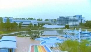 Songdowon International Children's Camp(송도원국제소년단야영 松濤園国際少年団野営所) from the air