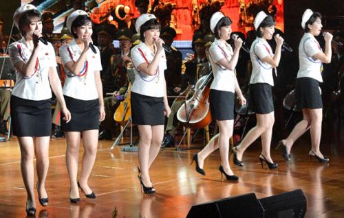 DPRKToday singers in reverse pitch order
