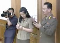 Kim Un-ryong talk with KJU 20120706